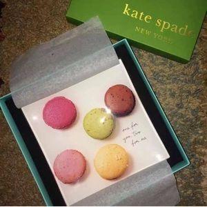BNIB Kate Spade Macaron Dessert Plate